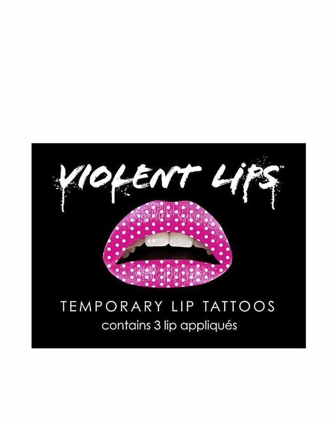 Tatouages pour lèvres Violent Lips. 12 €.