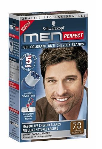 Secrets beauté des hommes : un gel colorant Schwarzkopf pour des cheveux brillants