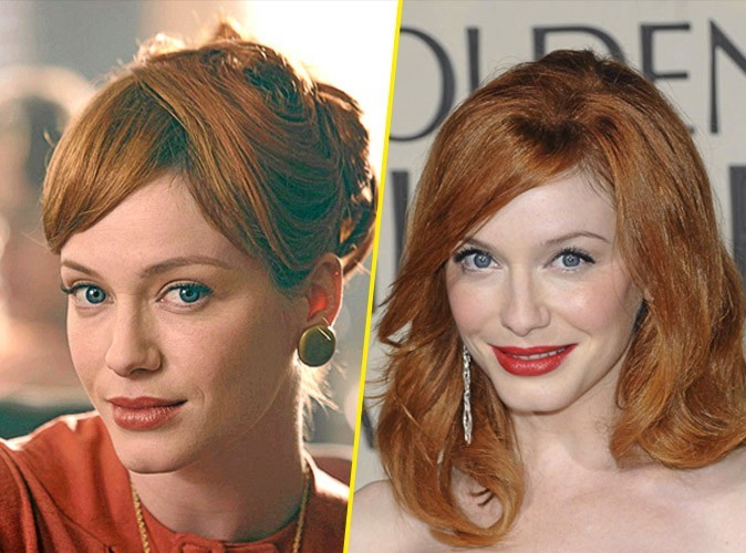 Les secrets de beauté de Joan Harris alias Christina Hendricks
