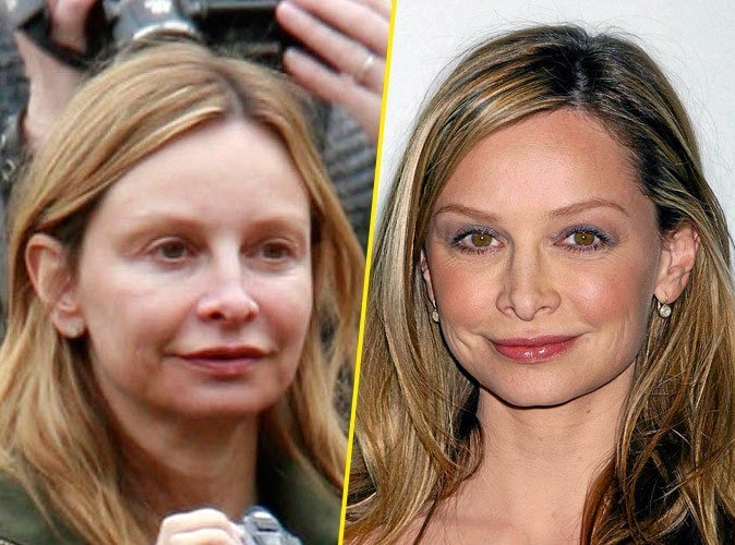 Star sans maquillage : Calista Flockhart