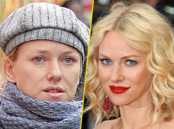 Star sans maquillage : Naomi Watts