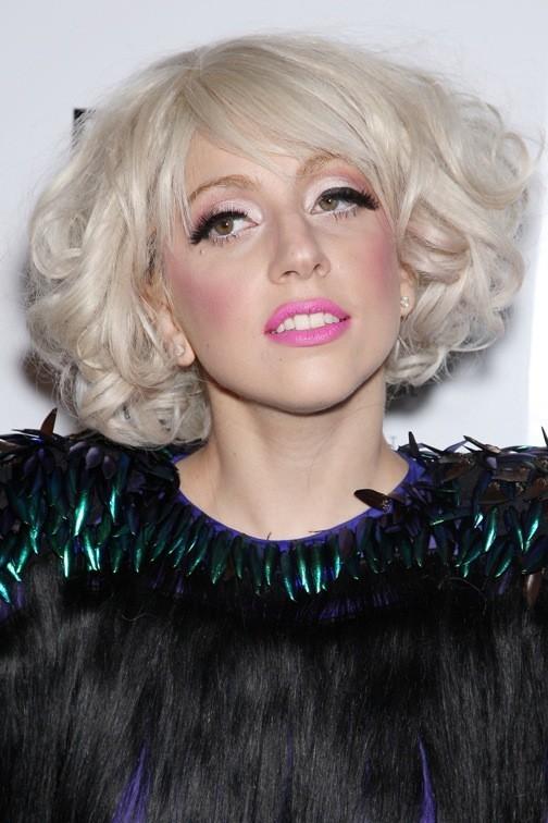 Lady Gaga soft en rose