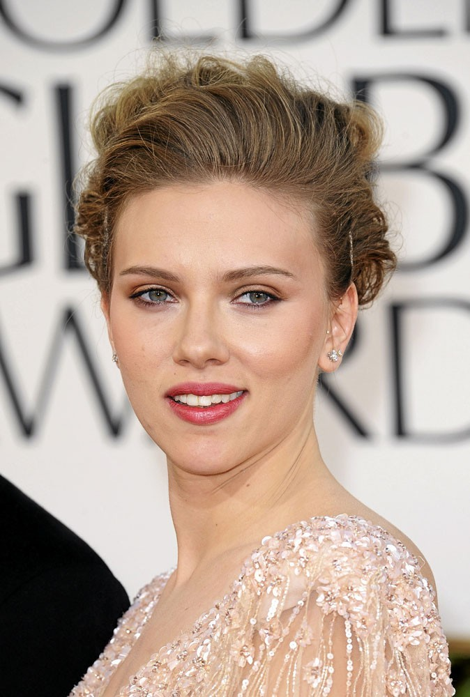 maquillage de star mode d 39 emploi du regard cuivr de scarlett johansson. Black Bedroom Furniture Sets. Home Design Ideas