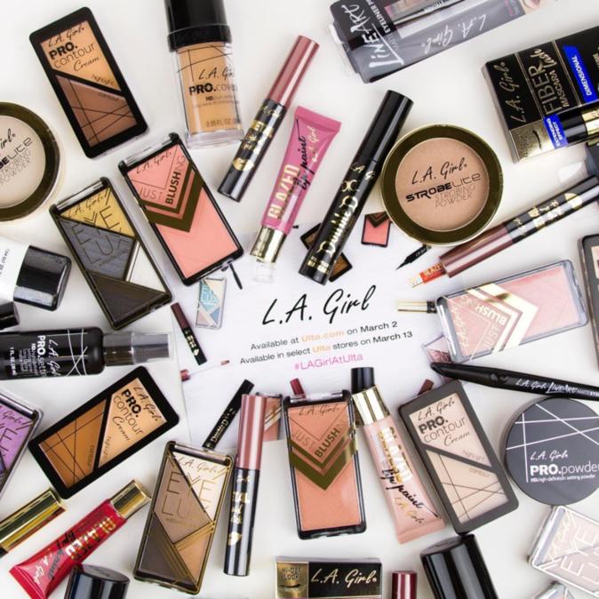 Maquillage qualitatif et pas cher : Les produits de la marque L.A Girl