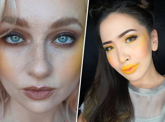 Maquillage : Le blush jaune entend remplacer l'highlighter
