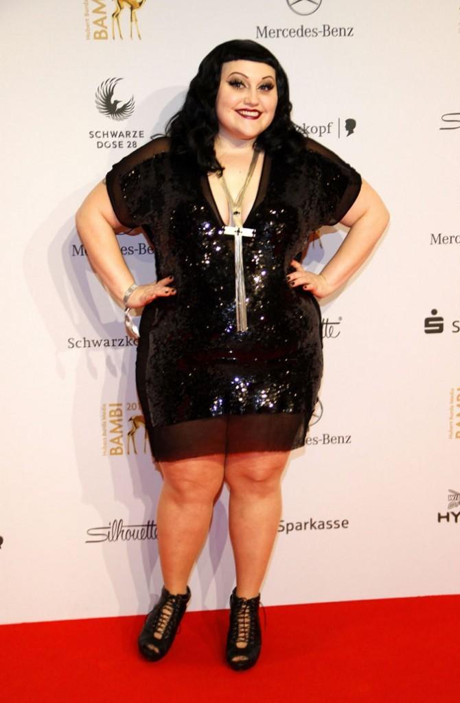 Le vrai poids de Beth Ditto : 95 kg pour 1,58 !
