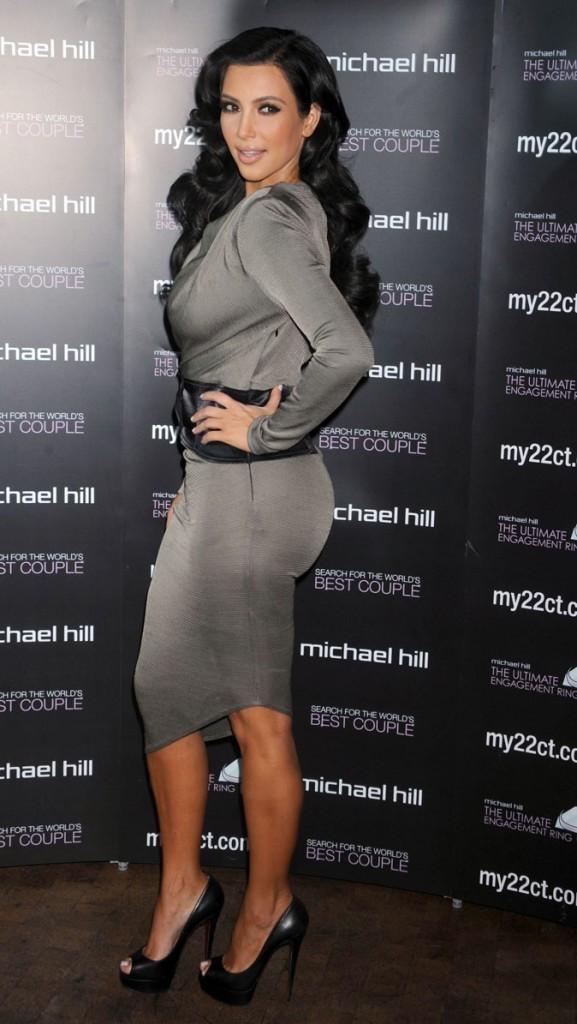 Le vrai poids de Kim Kardashian : 57 kg pour 1,59 m !