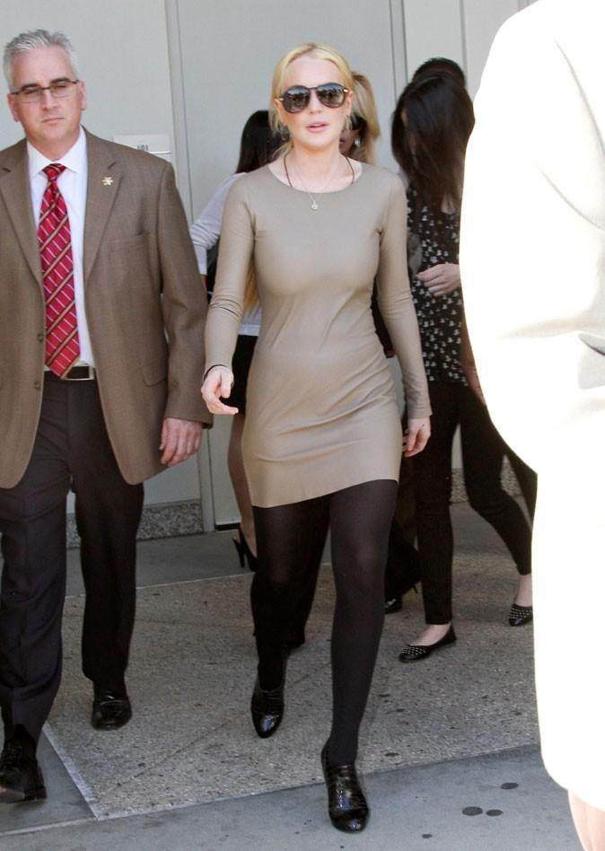 Le vrai poids de Lindsay Lohan : 49 kg pour 1,65 m !