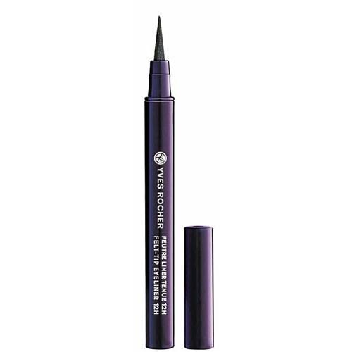 Mode d'emploi du maquillage fluo : un eye-liner Yves Rocher