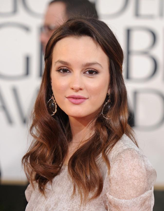 Beauté de star : le maquillage nude de Leighton Meester