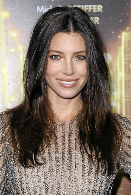 Mode d'emploi : le make-up nude de Jessica Biel !