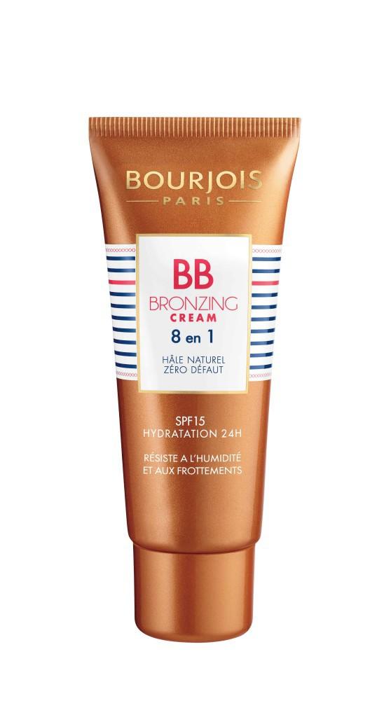 Glam Bling à Saint-Tropez : BB crème bronzante 8 en 1, Bourjois 14,45 €