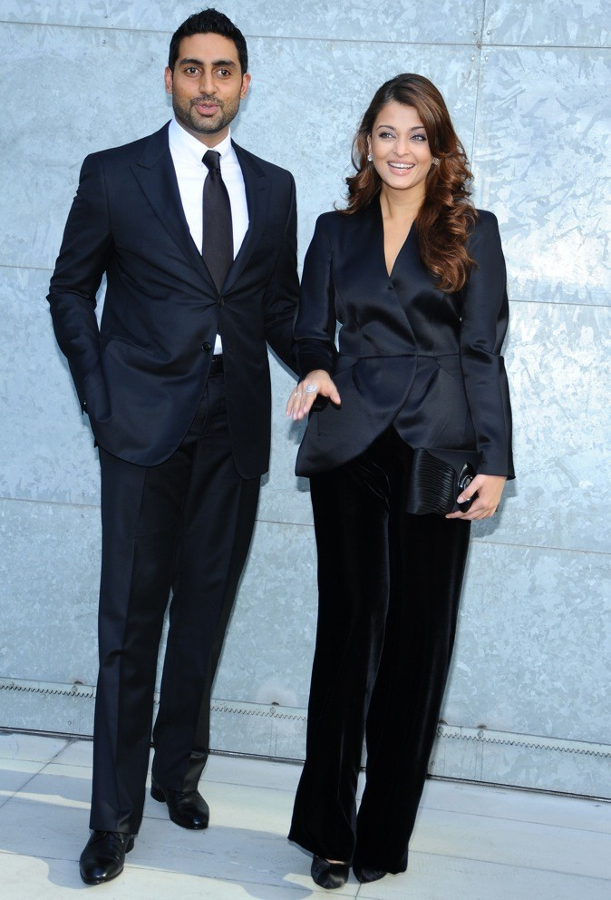 Aishwarya Rai en septembre 2010 avec son mari !