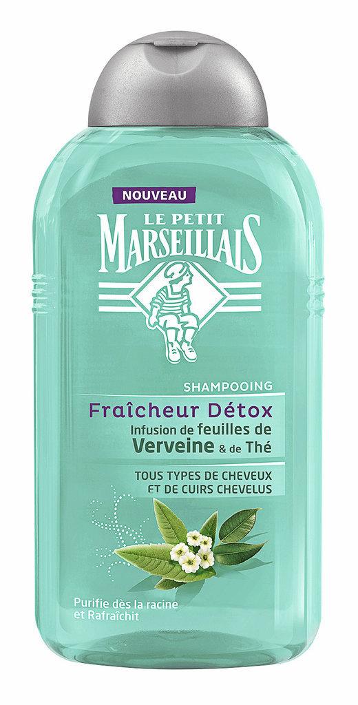 Shampooing Fraîcheur Détox, Le Petit Marseillais. 2,65 €.