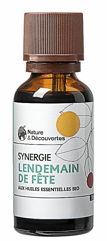 Synergie Lendemain de fête, Nature & Découvertes. 14,95 €.