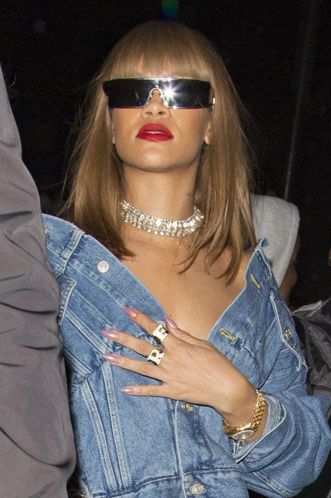 La frange de Rihanna