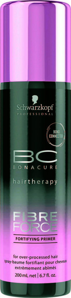 Spray-baume fortifiant BC Fibre Force, Schwarzkopf Professional. 26,95 €.