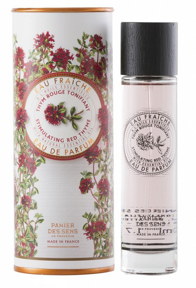 La nature au parfum : Eau fraîche stimulante au thym rouge, Panier des Sens 22€