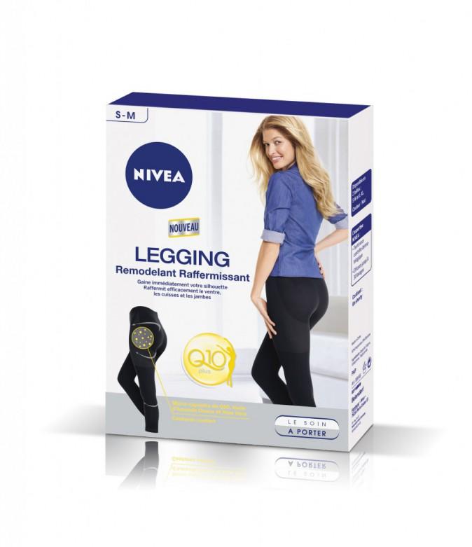 Phase 2, mon objectif beauté : Legging remodelant raffermissant Q10, Nivea 29,90 €