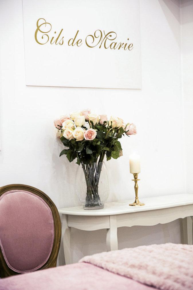 Salon de beauté : Les cils de Marie
