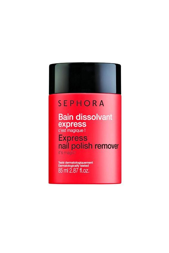 Bain dissolvant express, Sephora 7,95 €