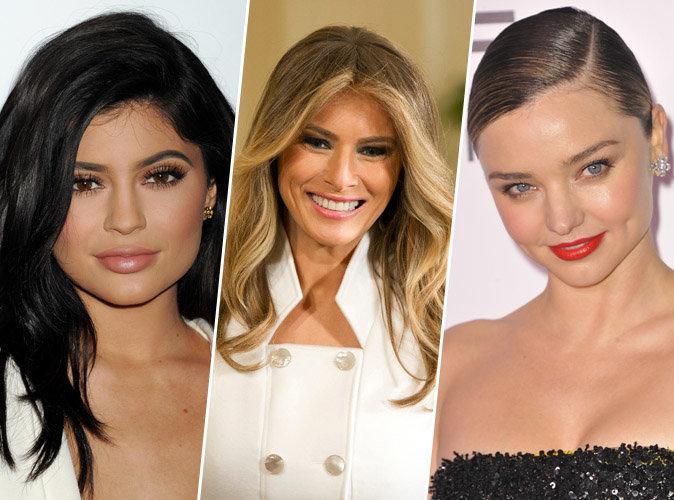 Kylie Jenner, Melania Trump, Miranda Kerr... ces stars qui possèdent leur propres lignes de cosmétiques