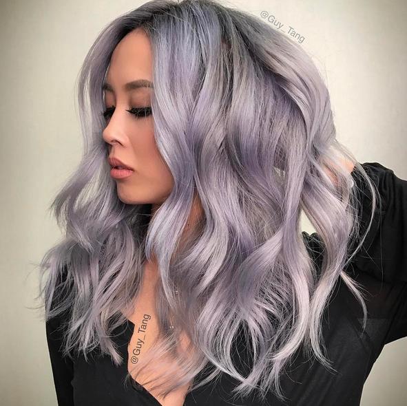 photos coloration cheveux oserezvous le quotsmoky hair