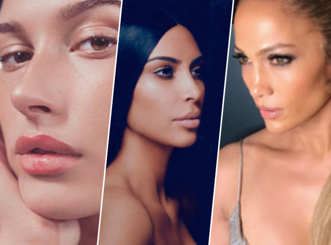 Hailey Baldwin, Kim Kardashian, Jennifer Lopez... Comment se faire un teint dewy ?