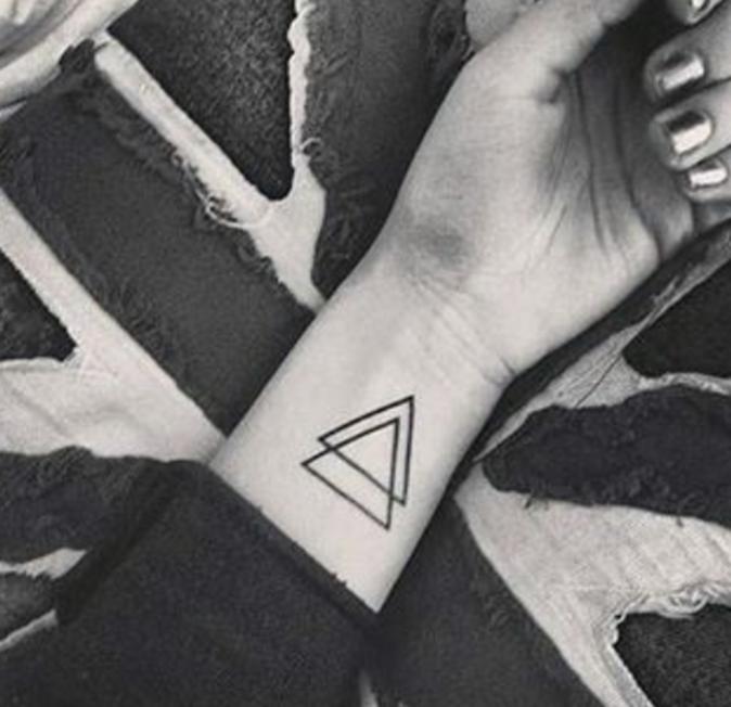 Tatouages pour le poignet : des formes géométriques