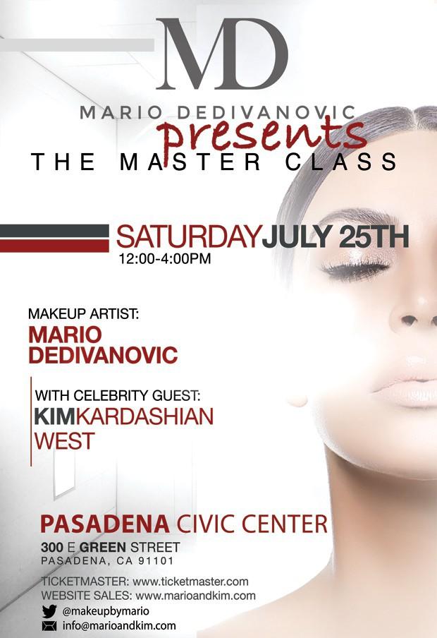 """L'évènement """"Masterclass"""" par Mario Dedivanovic avait lieu le 25 juillet dernier"""