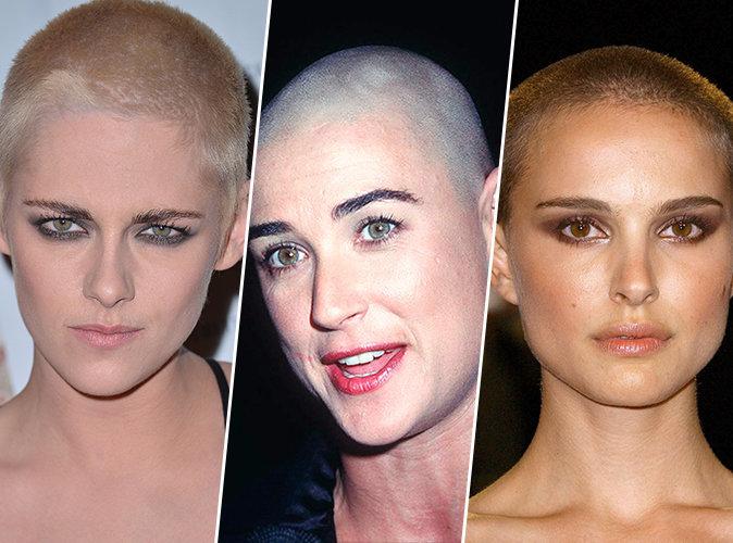 Kristen Stewart, Natalie Portman, Demi Moore... Ces stars qui se sont rasé la tête