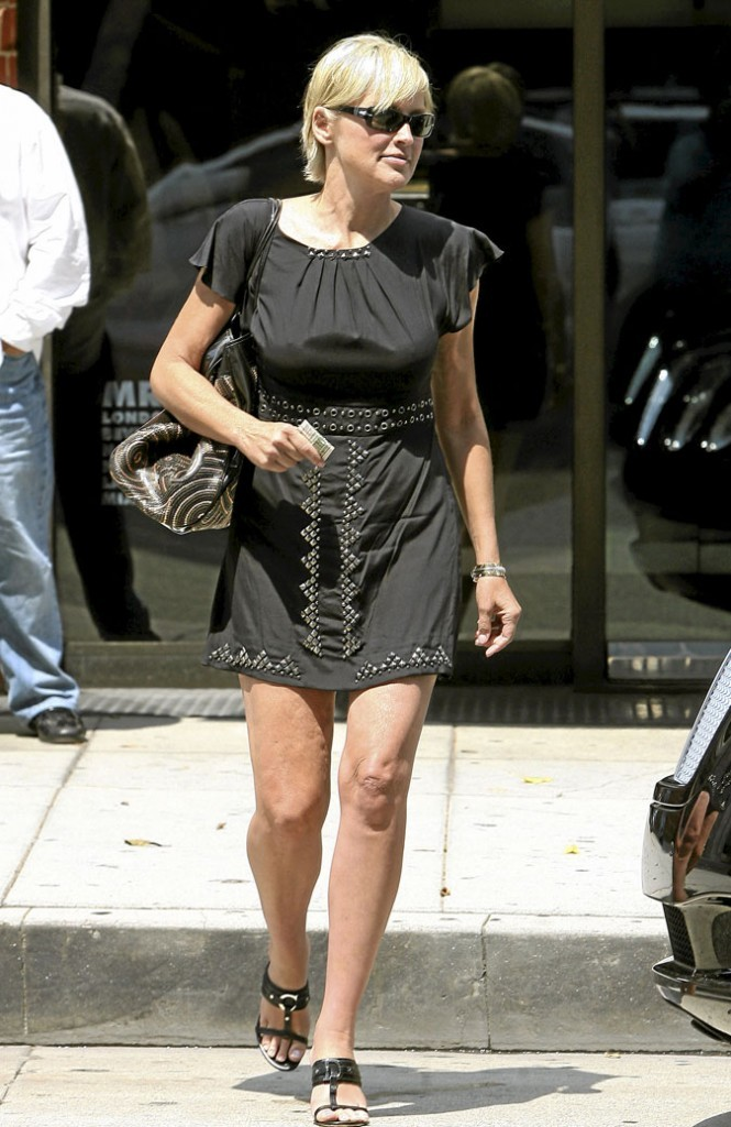 Photo : la cellulite sur les cuisses de Sharon Stone