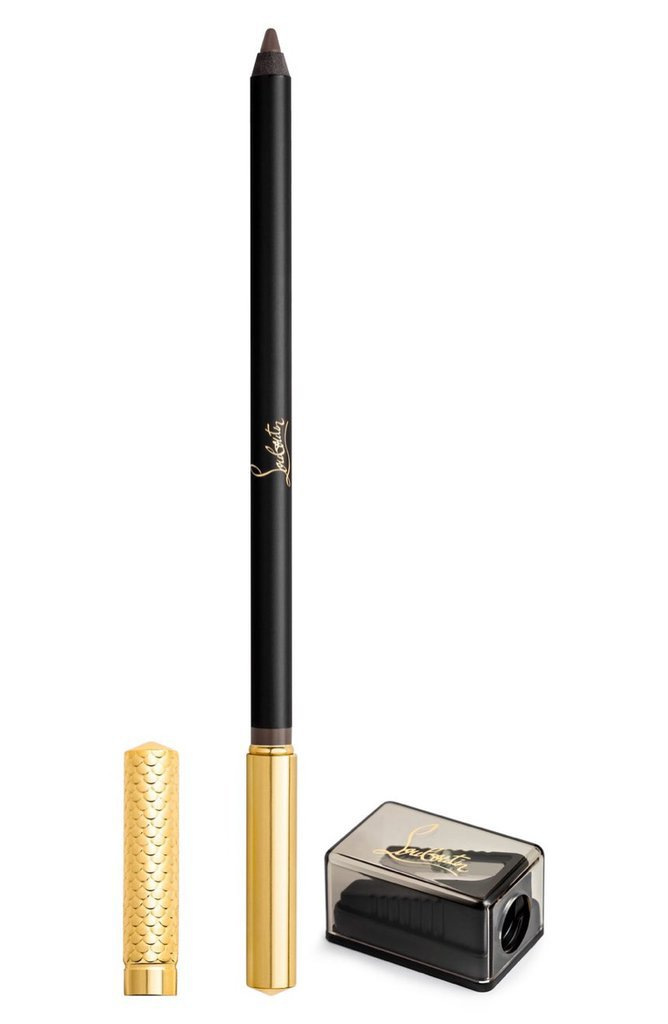 Crayon pour sourcils et taille crayon noir et or - 37 euros