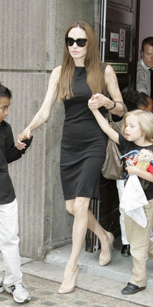 à Angelina Jolie !