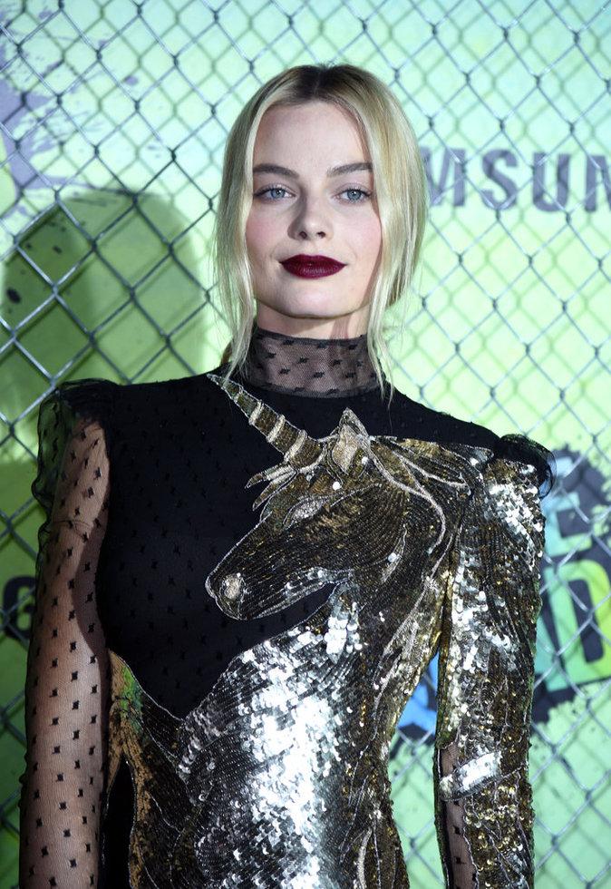 La bouche dark de Margot Robbie