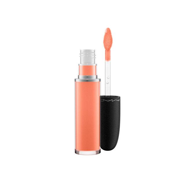 "Retro Matte Liquid Lipcolour : ""Mango Mango"" (corail pêche) - 22€"