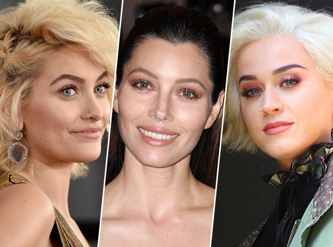 Paris Jackson, Jessica Biel, Katy Perry, le piercing dans le nez est devenu la nouvelle lubie des stars !