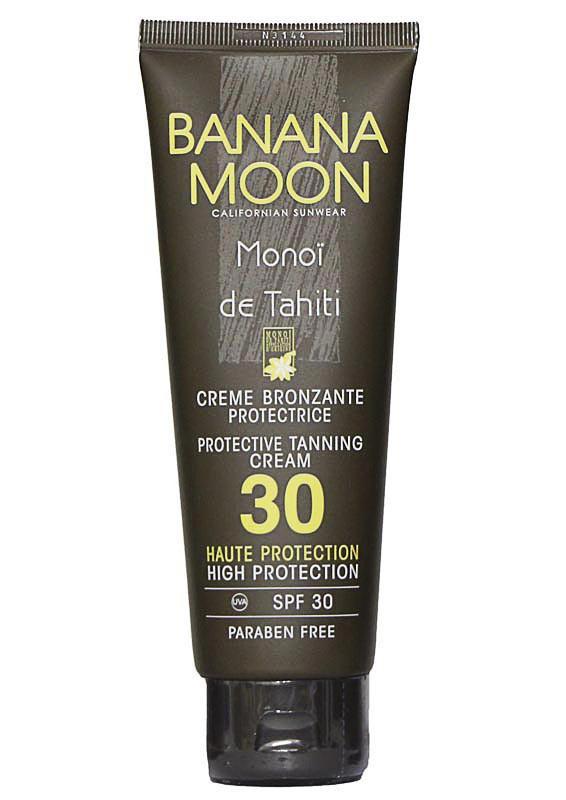 Crème bronzante protectrice, SPF 30, Banana Moon 14,90 €