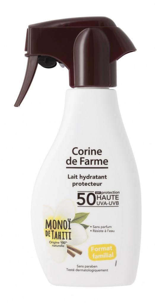 Lait hydratant protecteur, SPF 50, Corine deFarme 13,90 €