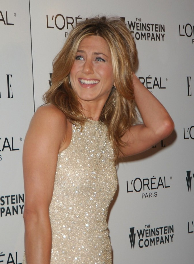 Jennifer Aniston sur tapis rouge