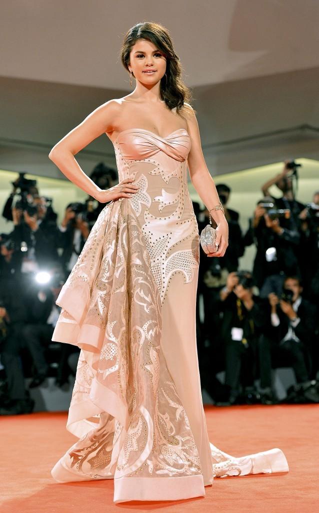 Selena Gomez sur le tapis rouge