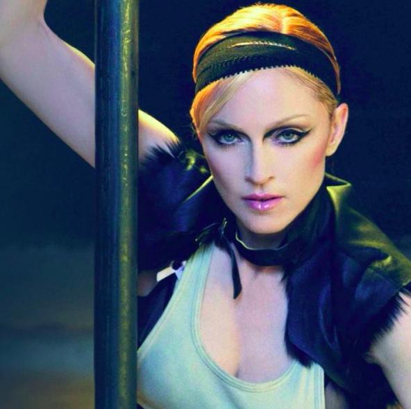 Madonna maquillée par Pat McGrath