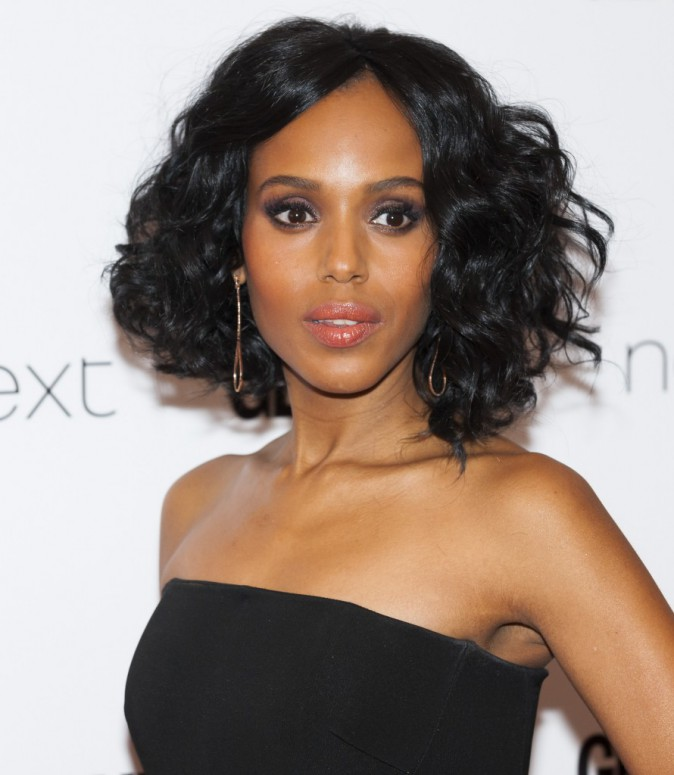 Kerry Washington : le carré bouclé
