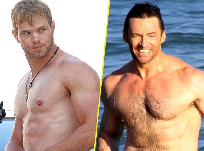 Photos stars sexy : les hommes poilus vs les imberbes !