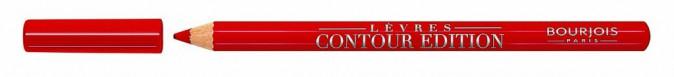 Crayon lèvres Contour Édition, Tout rouge, Bourjois 8,35€