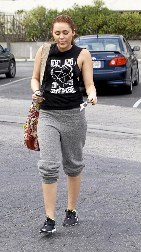 Miley Cyrus avant !