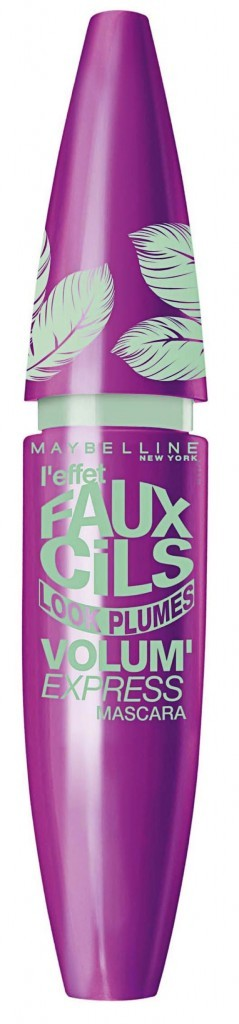 Mascara faux cils look plumes, Gemey-Maybelline 11,90 €