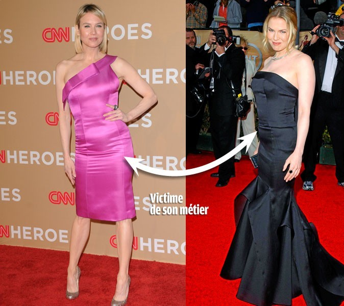 Le régime de Renée Zellweger, 61 kg : reine du yoyo !