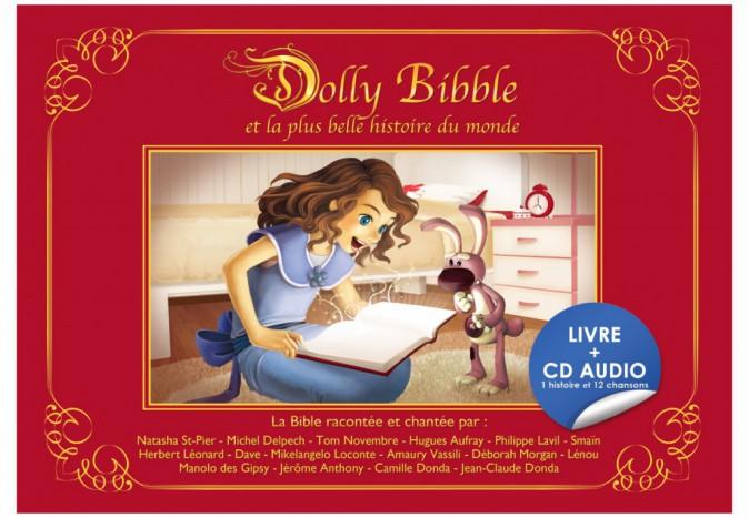 Dolly Bibble, Bible musicale illustrée pour enfants, chantée par Jérôme Anthony, Natasha St-Pier, Dave, etc. Chez Gif, 18,99 €