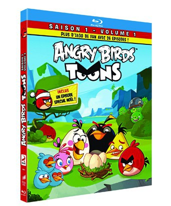 DVD Angry Birds Toons, saison 1, Sony Pictures, 14,99 €